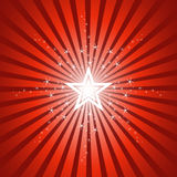 Sparkling Bright Star Background Stock Photography