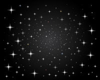 Free Sparkling Bright Stars Night Sky Stock Photography - 10252322