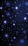 Sparkling bright stars night sky Stock Photo