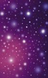 Sparkling bright stars night sky Royalty Free Stock Photos