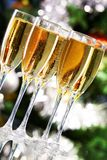 Sparkling champagne Stock Image