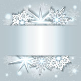 Sparkling Christmas Background Stock Photography