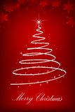 Sparkling Christmas Tree Royalty Free Stock Images