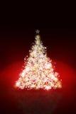 Sparkling Christmas tree Royalty Free Stock Image