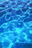 Sparkling cool blue water Royalty Free Stock Image