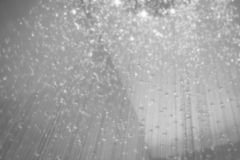 Sparkling crystal decorated background Stock Photo