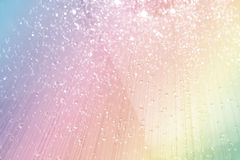 Sparkling crystal decorated background Stock Photos