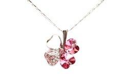 Sparkling diamond necklace Royalty Free Stock Photography