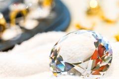Sparkling diamond Royalty Free Stock Photo