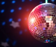 Sparkling disco ball. Stock Photography