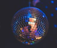 Sparkling disco ball. Royalty Free Stock Photography
