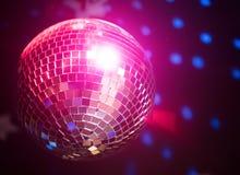 Sparkling disco ball. Royalty Free Stock Photos