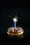 Sparkling Donut Royalty Free Stock Photo