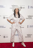 Sparkling Exec Producer Olga Segura Arrives at `The Dinner` Premiere in NYC at Tribeca Festival Stock Photo