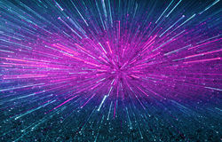 Sparkling explosion abstract Royalty Free Stock Photos