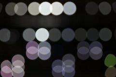 sparkling fläckar för ljus lighting Royaltyfria Bilder