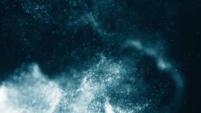 Sparkling flow abstract background Royalty Free Stock Images