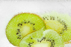 Sparkling fruty refreshment Stock Images
