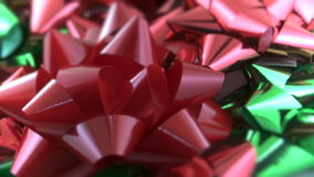 Sparkling Gift Bows Stock Photography