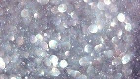 Sparkling glitter. Out of focus glitter sparkles Bokeh, christmas background