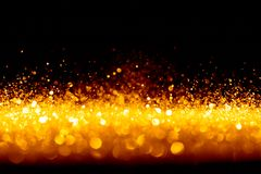 Sparkling glittering lights abstract Stock Photos