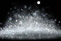Sparkling glittering lights abstract Stock Images