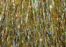Sparkling, glittering, twinkling golden background Royalty Free Stock Photos