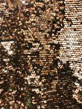 Round glitter gold sequin Royalty Free Stock Photography