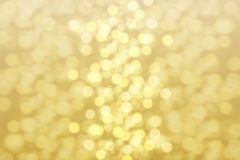 Sparkling golden light effect royalty free stock image