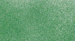 Sparkling green glitter background stock photos