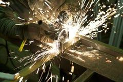 Sparkling grinder Stock Photo