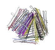 Sparkling Hair Pins From Above Royalty Free Stock Photography