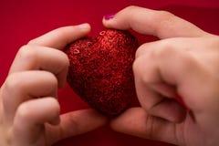 Sparkling Heart Royalty Free Stock Photo