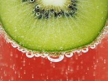 Sparkling kiwi Royalty Free Stock Photo