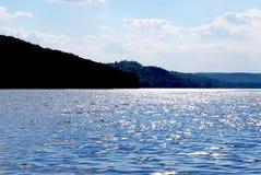 Sparkling lake Royalty Free Stock Photography