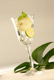 Sparkling lemonade Stock Photography