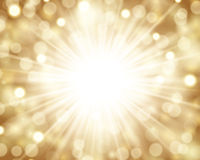 Sparkling light background. Abstract background of bright, blurry, sparkling lights Stock Photography