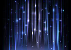 Sparkling light speed abstract background Royalty Free Stock Image