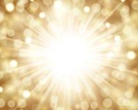 Sparkling ljus bakgrund Arkivbild