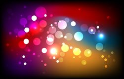 Sparkling Magic Background Royalty Free Stock Photos