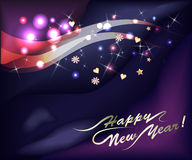 Sparkling new year background Stock Images