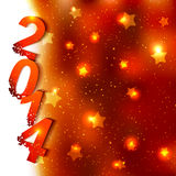 Sparkling New Year Background Royalty Free Stock Image