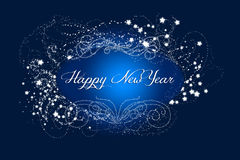 Sparkling New Year Stock Photography
