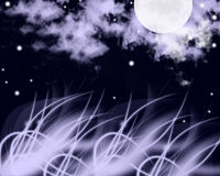 Sparkling night Royalty Free Stock Images