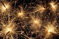 Sparkling night Stock Photos