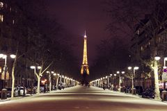 The sparkling Paris Royalty Free Stock Photography