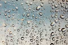 Sparkling raindrops Royalty Free Stock Photo