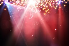 Sparkling red backdrop Royalty Free Stock Photography