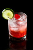 Sparkling red cocktail Royalty Free Stock Photo
