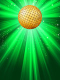 Sparkling red disco ball. Royalty Free Stock Images